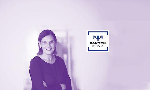 news aktuell Geschäftsführerin Edith Stier-Thompson im Podcast FAKTENFKUNK von Faktenkontor